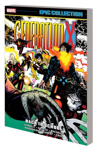 GENERATION X EPIC COLLECTION BACK TO SCHOOL GRAPHIC NOVEL