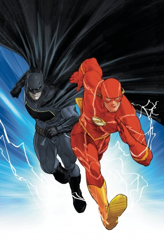 BATMAN FLASH THE BUTTON GRAPHIC NOVEL (INTERNATIONAL EDITION)