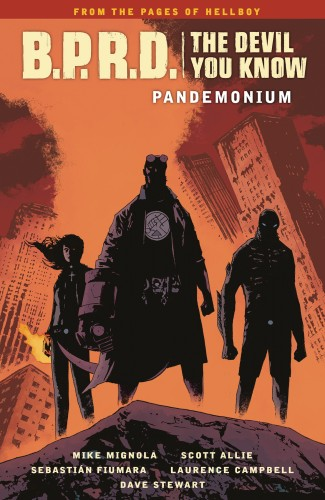 BPRD THE DEVIL YOU KNOW VOLUME 2 PANDEMONIUM GRAPHIC NOVEL