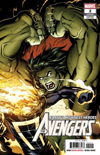 AVENGERS #2 (2018 SERIES) 2ND PRINTING