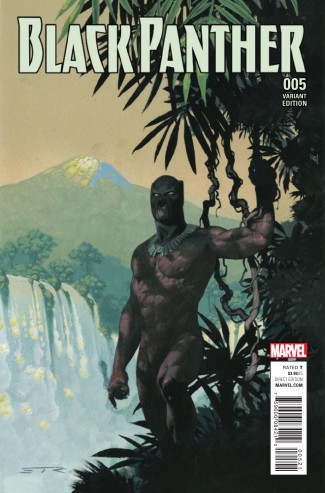 BLACK PANTHER VOLUME 6 #5 RIBIC CONNECTING A VARIANT COVER