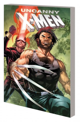 UNCANNY X-MEN CYCLOPS AND WOLVERINE GRAPHIC NOVEL