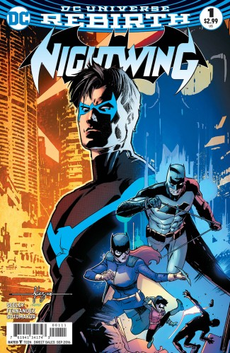 NIGHTWING VOLUME 4 #1