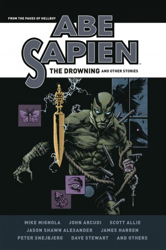ABE SAPIEN DROWNING AND OTHER STORIES HARDCOVER