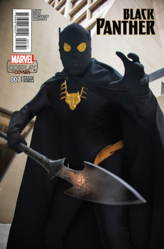 BLACK PANTHER VOLUME 6 #7 COSPLAY 1 IN 15 INCENTIVE VARIANT COVER