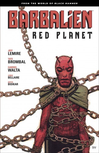 BARBALIEN RED PLANET GRAPHIC NOVEL