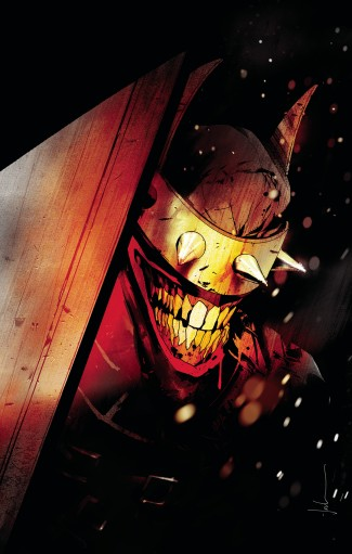 THE BATMAN WHO LAUGHS HARDCOVER