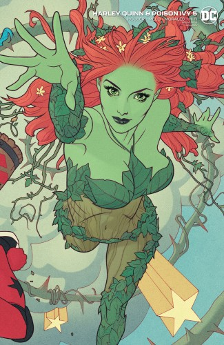 HARLEY QUINN & POISON IVY #5 CARD STOCK POISON IVY VARIANT