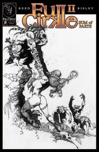 Full Cirkle II Sum of Parts #2 (1 in 10 Incentive Sketch Cover)