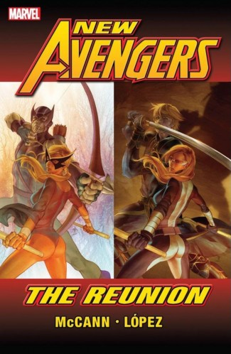 NEW AVENGERS REUNION GRAPHIC NOVEL