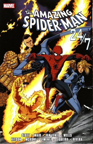 AMAZING SPIDER-MAN 24 / 7 GRAPHIC NOVEL