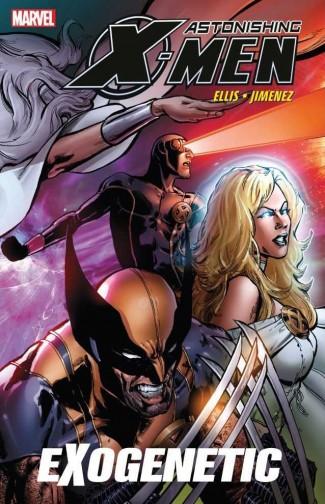 ASTONISHING X-MEN VOLUME 6 EXOGENETIC GRAPHIC NOVEL