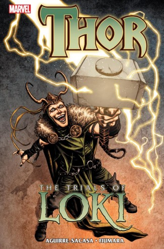 THOR TRIALS OF LOKI HARDCOVER