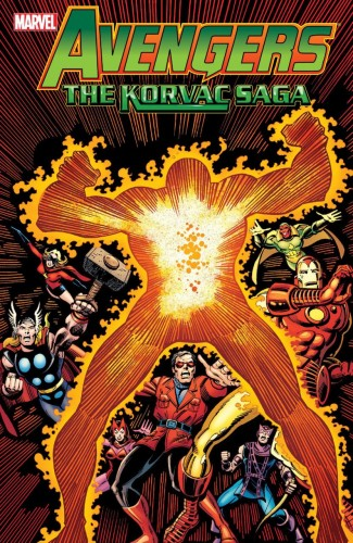 AVENGERS KORVAC SAGA GRAPHIC NOVEL