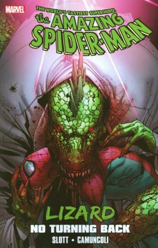 SPIDER-MAN LIZARD NO TURNING BACK HARDCOVER