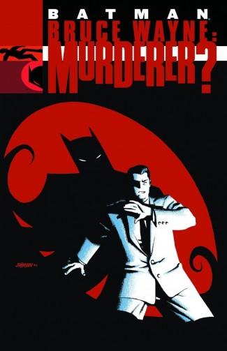BATMAN BRUCE WAYNE MURDERER GRAPHIC NOVEL