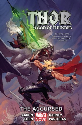 THOR GOD OF THUNDER VOLUME 3 ACCURSED HARDCOVER