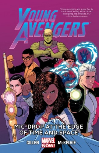YOUNG AVENGERS VOLUME 3 MIC-DROP AT THE EDGE OF TIME AND SPACE GRAPHIC NOVEL