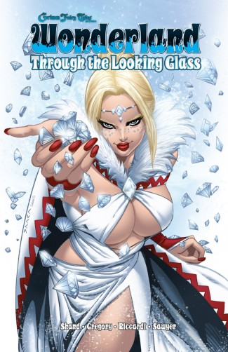 GRIMM FAIRY TALES PRESENTS WONDERLAND THROUGH THE LOOKING GLASS GRAPHIC NOVEL