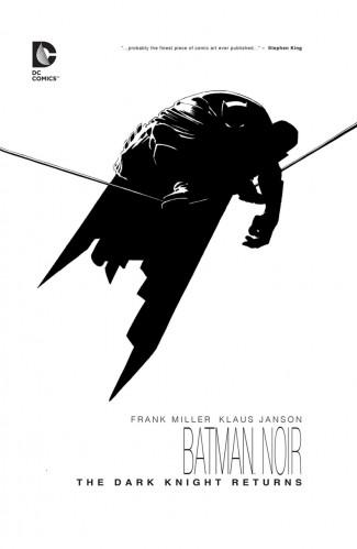 BATMAN NOIR THE DARK KNIGHT RETURNS DELUXE EDITION HARDCOVER