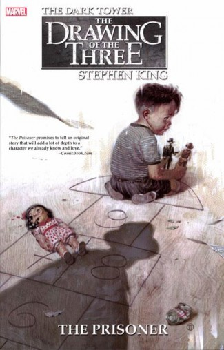 DARK TOWER THE DRAWING OF THE THREE THE PRISONER GRAPHIC NOVEL