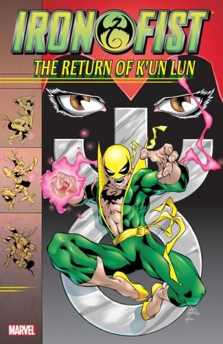 IRON FIST THE RETURN OF KUN LUN GRAPHIC NOVEL