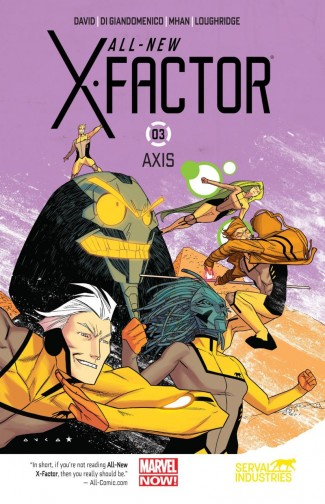 ALL NEW X-FACTOR VOLUME 3 AXIS GRAPHIC NOVEL