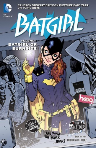 BATGIRL VOLUME 1 THE BATGIRL OF BURNSIDE GRAPHIC NOVEL