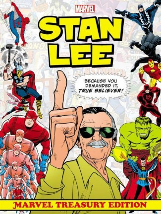 STAN LEE MARVEL TREASURY EDITION SLIPCASE HARDCOVER