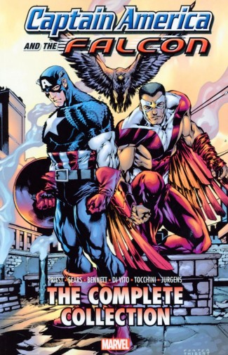 CAPTAIN AMERICA AND THE FALCON BY PRIEST THE COMPLETE COLLECTION GRAPHIC NOVEL