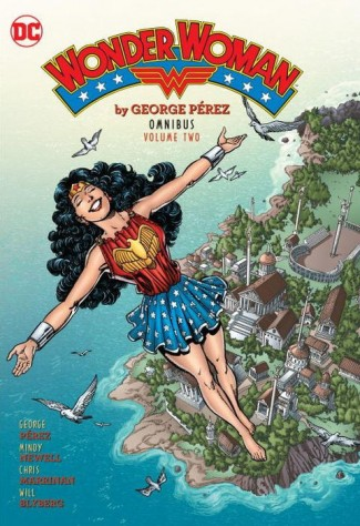 WONDER WOMAN BY GEORGE PEREZ OMNIBUS VOLUME 2 HARDCOVER