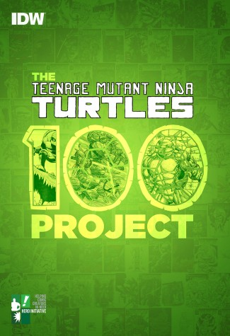 TMNT (TEENAGE MUTANT NINJA TURTLES) 100 PROJECT GRAPHIC NOVEL