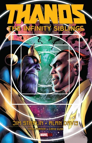 THANOS INFINITY SIBLINGS HARDCOVER