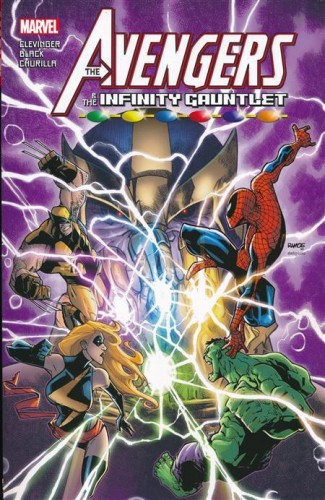 AVENGERS AND THE INFINITY GAUNTLET GRAPHIC NOVEL
