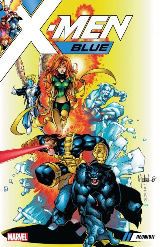 X-MEN BLUE VOLUME 00 REUNION GRAPHIC NOVEL