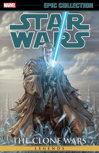 STAR WARS LEGENDS EPIC COLLECTION CLONE WARS VOLUME 2 GRAPHIC NOVEL