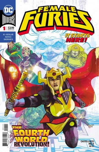 FEMALE FURIES #1