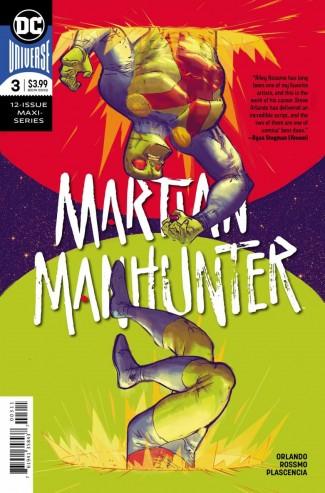 MARTIAN MANHUNTER #3 (2018 SERIES)