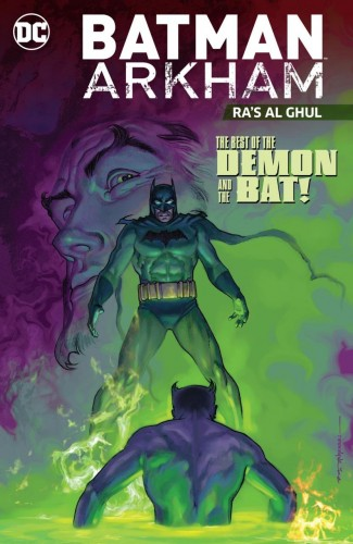 BATMAN ARKHAM RAS AL GHUL GRAPHIC NOVEL