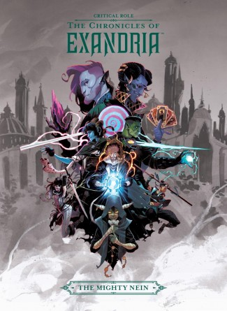 CRITICAL ROLE VOLUME 1 THE CHRONICLES OF EXANDRIA THE MIGHTY NEIN HARDCOVER