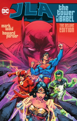JLA THE TOWER OF BABEL DELUXE HARDCOVER
