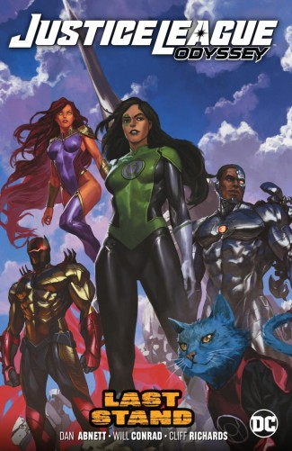 JUSTICE LEAGUE ODYSSEY VOLUME 4 GRAPHIC NOVEL