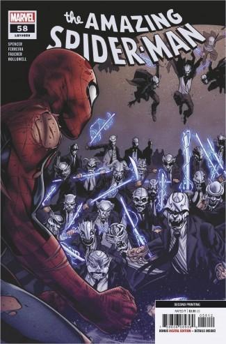 AMAZING SPIDER-MAN #58 (2018 SERIES) 2ND PRINTING