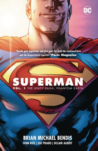 SUPERMAN VOLUME 1 THE UNITY SAGA PHANTOM EARTH GRAPHIC NOVEL
