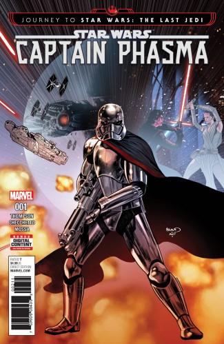 JOURNEY TO STAR WARS LAST JEDI CAPT PHASMA #1