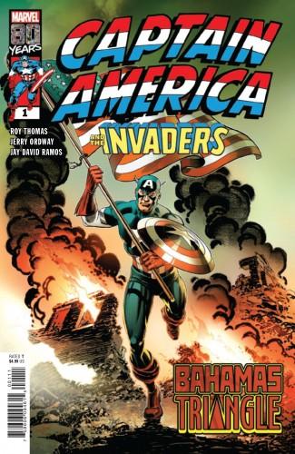 CAPTAIN AMERICA INVADERS BAHAMAS TRIANGLE #1