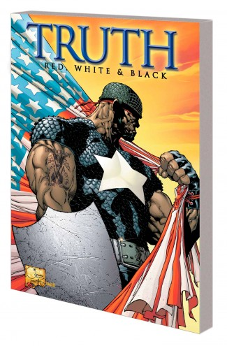 CAPTAIN AMERICA TRUTH GRAPHIC NOVEL JOE QUESADA COVER