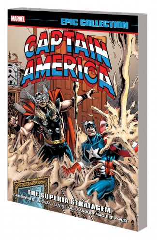 CAPTAIN AMERICA EPIC COLLECTION SUPERIA STRATAGEM GRAPHIC NOVEL