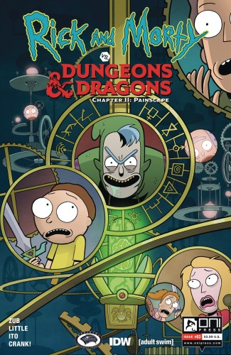 RICK & MORTY VS DUNGEONS & DRAGONS II PAINSCAPE #3