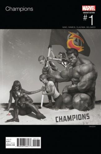 CHAMPIONS VOLUME 2 #1 HIP HOP VARIANT